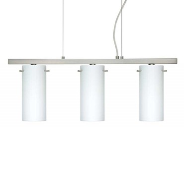 Copa Linear Pendant by Besa Lighting | 3LP-440307-SN