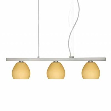 Tay Tay Linear Suspension by Besa Lighting | 3LP-5605VM-SN