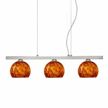 Palla 5 Linear Suspension by Besa Lighting | 3LP-565818-SN