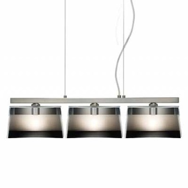 Groove Linear Suspension by Besa Lighting | 3LP-6773MR-SN