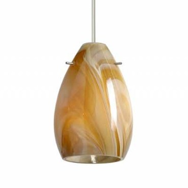 XP Pera 6 Pendant by Besa Lighting | XP-1713HN-BR