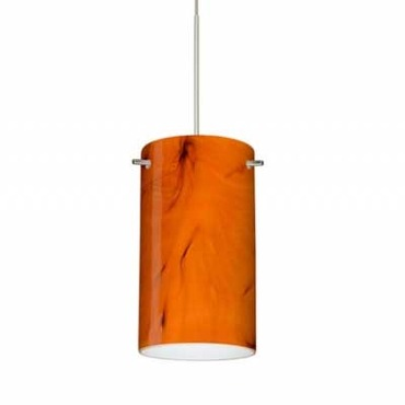 XP Stilo 7 Pendant by Besa Lighting | XP-4404HB-SN