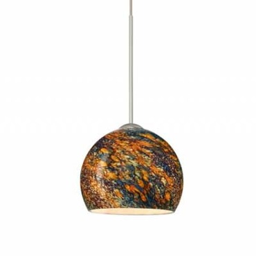 XP Palla 5 Pendant by Besa Lighting | XP-5658CE-SN