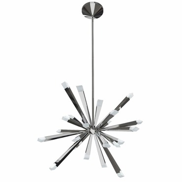 Starburst Pendant by Blackjack Lighting | 2STB-MCH-PC