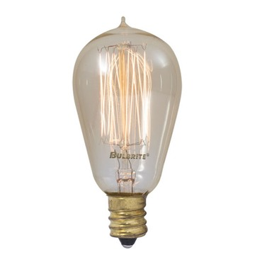 Nostalgic ST15 E12 Antique Thread 25W 120V