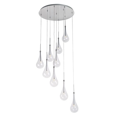 Larmes LED Round Suspension