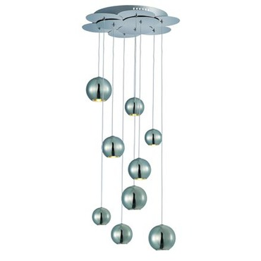 Bollero Nine Light Multi Pendant by Et2 | E22196-PC