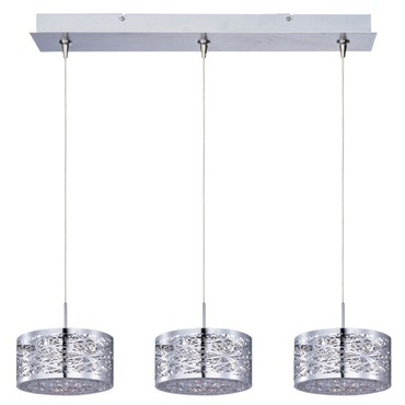 Inca Linear Multi Light Pendant by Et2 | E94845-10PC