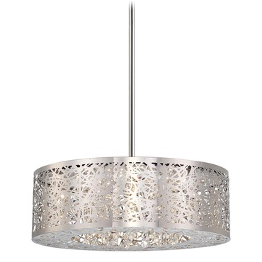 Hidden Gems LED Round Chandelier by George Kovacs | P982-077-L