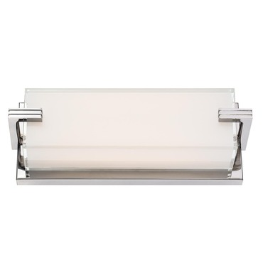 Cubism LED Linear Bathroom Vanity Light by George Kovacs | P5219-077-L