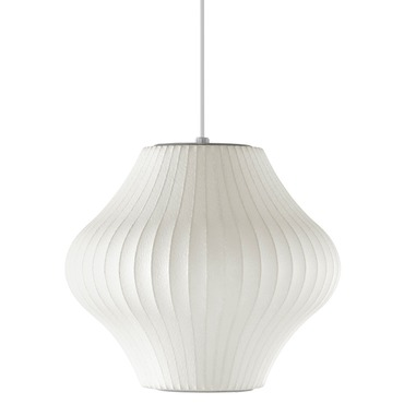 Pear Pendant by George Nelson | H770S-BNS
