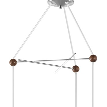 Bubble Lamp Triple Canopy by George Nelson | B-3-740BNS