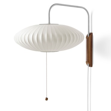 Saucer Wall Sconce by George Nelson | H763SC-WAL-BNS