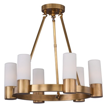 Contessa Chandelier by Maxim Lighting | 22416SWNAB