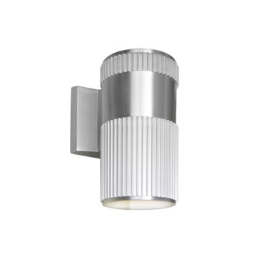 Lightray Pleated Outdoor Wall Sconce by Maxim Lighting | 86125AL