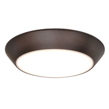 Convert 15 Watt LED Flush Mount by Maxim Lighting | 87615WTBZ