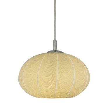 Oro Swag Flush Round Canopy Pendant