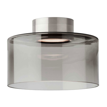 Manette LED Semi-Flush Mount Ceiling  by Tech Lighting | 700FMMANLTKS-LED
