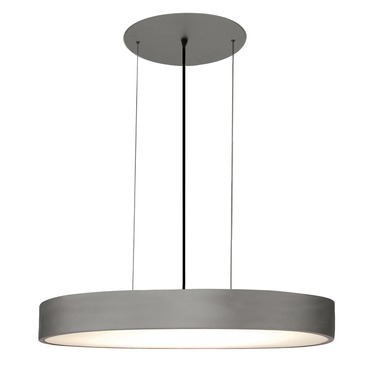 Vega Oval Suspension by Edge Lighting | VEGA-OV-H1-SI