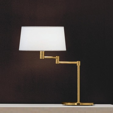 Classic Swing Arm Table Lamp with Top Diffuser