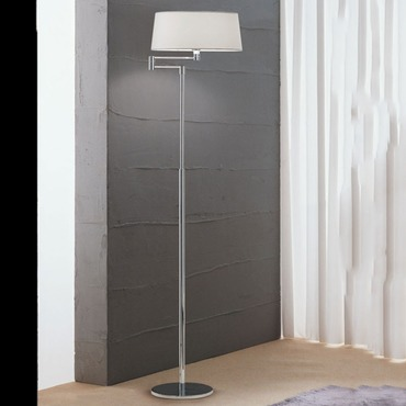 Classic Swing Arm Floor Lamp by Zaneen Lighting | D8-4065