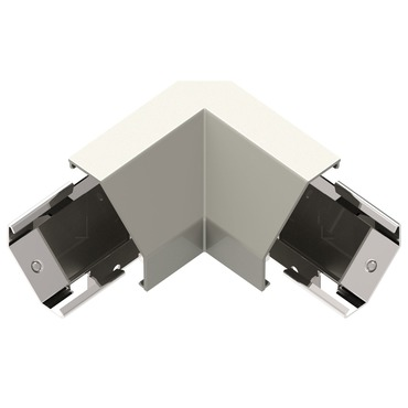 Modular Track Under Cabinet Corner Connector by Legrand | APCCTM4