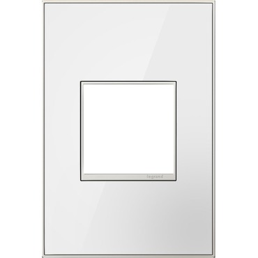 Mirror White Wall Plate by Legrand | AWM1G2MW4