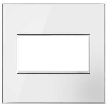 Adorne Real Material Screwless Wall Plate by Legrand | AWM2GMW4