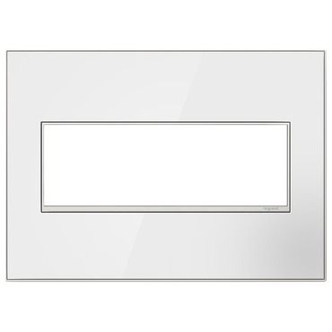 Adorne Real Material Screwless Wall Plate by Legrand | AWM3GMW4