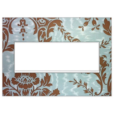 Custom Wall Plate by Legrand | AWM3GW4