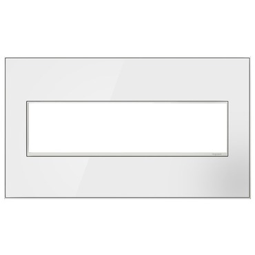 Adorne Real Material Screwless Wall Plate by Legrand | AWM4GMW4