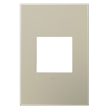 Adorne Plastic Screwless Wall Plate by Legrand | AWP1G2TM6