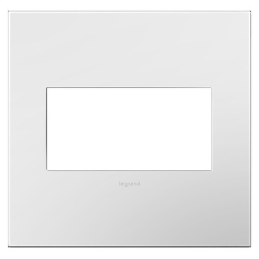 Adorne Plastic Screwless Wall Plate by Legrand | AWP2GWH4