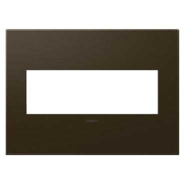 Adorne Plastic Screwless Wall Plate by Legrand | AWP3GBR4