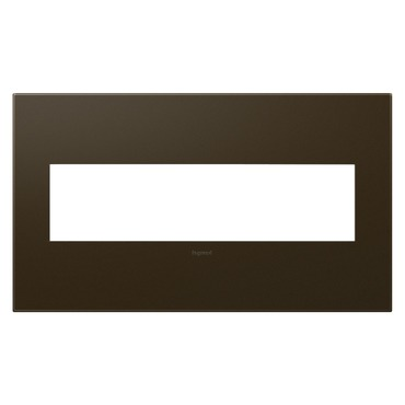 Adorne Plastic Screwless Wall Plate by Legrand | AWP4GBR4