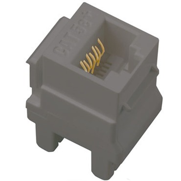 Cat 5e RJ45 Data/Phone Insert by Legrand | AC5ERJ45M1