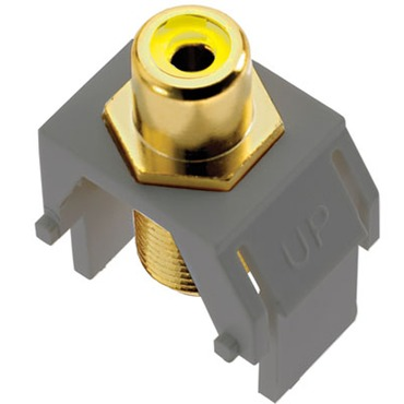 Composite Video RCA to F-Connector by Legrand | ACYRCAFM1
