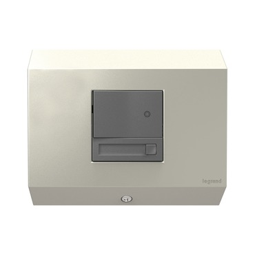 Undercabinet Control Box with Paddle Dimmer