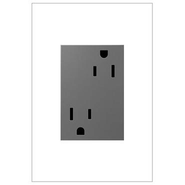 Tamper Resistant 15 Amp 3-Module Outlet by Legrand   ARTR153M4