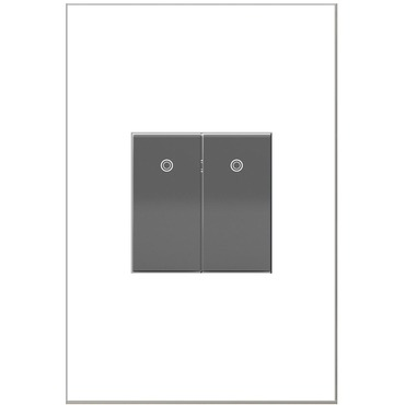 Adorne Half Size 15A Paddle Switch by Legrand | ASPD1531M4