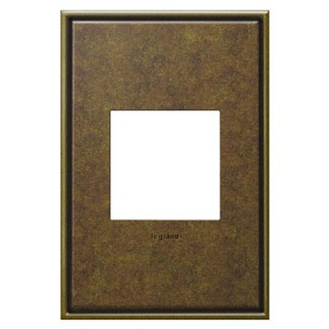 Aged Brass Wall Plate by Legrand | AWC1G2AB4