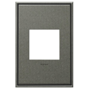 Brushed Pewter Wall Plate by Legrand | AWC1G2BP4