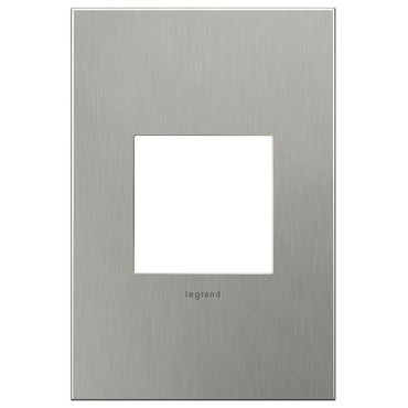 Brushed Stainless Steel Wall Plate by Legrand | AWC1G2BS4