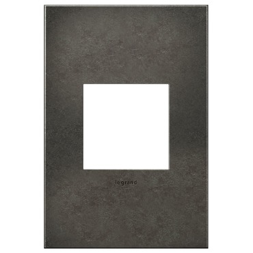 Dark Burnished Pewter Wall Plate by Legrand | AWC1G2DP4