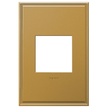 Cast Metal Wall Plate by Legrand | AWC1G2NB4