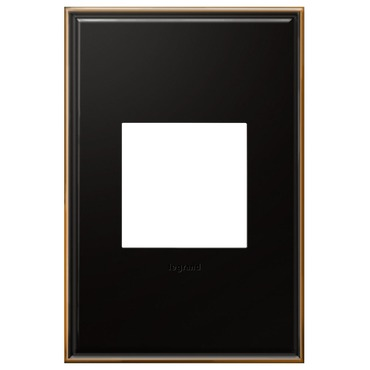 Cast Metal Wall Plate by Legrand   AWC1G2OB4