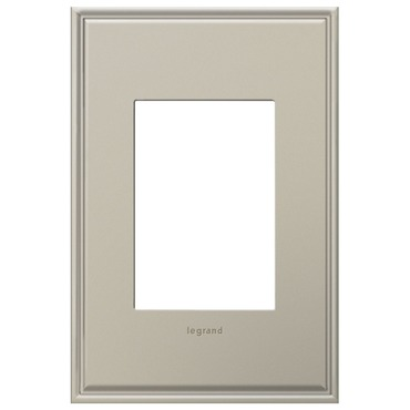 Cast Metal 1-Gang 3-Module Wall Plate by Legrand | AWC1G3AN4