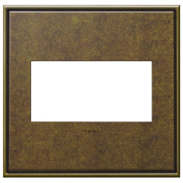Cast Metal Wall Plate by Legrand | AWC2GAB4