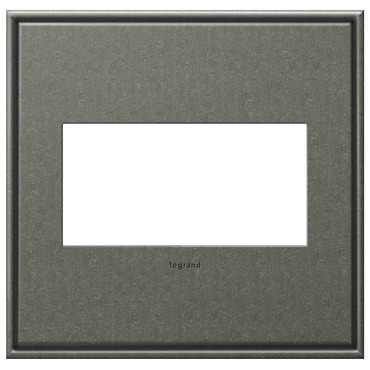 Cast Metal Wall Plate by Legrand | AWC2GBP4
