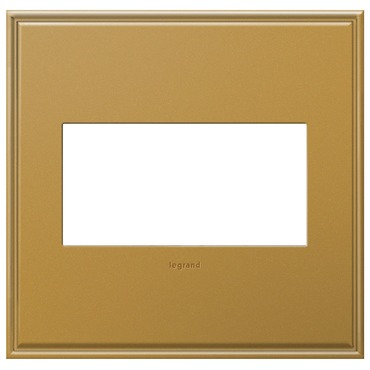 Antique Bronze Wall Plate by Legrand | AWC2GNB4
